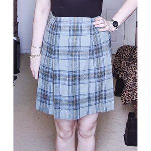 ✨3 FOR $15✨ Vintage Talbots Plaid Skirt